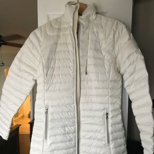 RL thigh length puffer jacket